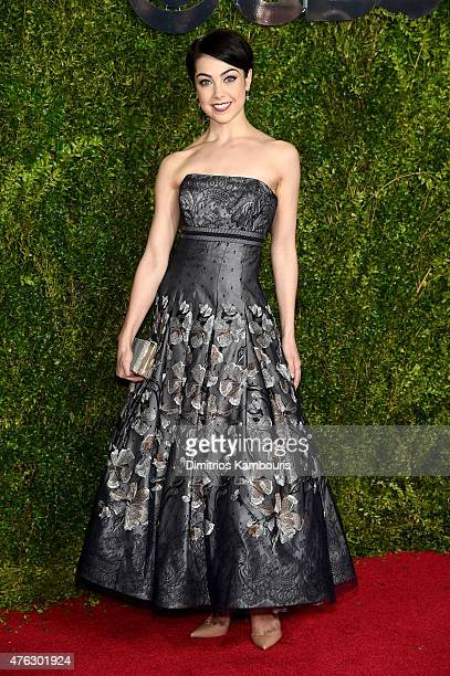 Leanne Cope attends the 2015 Tony Awards at Radio City Music Hall on June 7 2015 in New York City