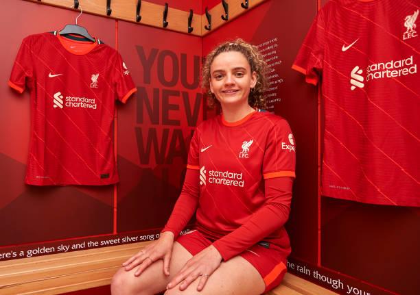 GBR: Liverpool Women Unveil new Signing Leanne Kiernan