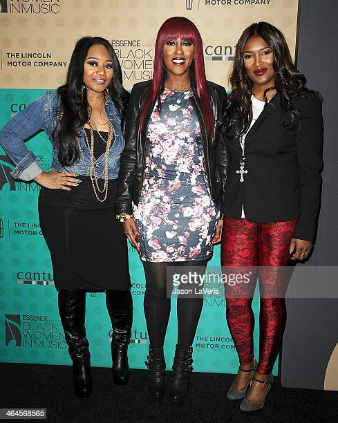 Leanne 'Lelee' Lyons Cheryl 'Coko' Clemons and Tamara 'Taj' JohnsonGeorge of the group SWV attend the 5th annual Essence Black Women In Music event...