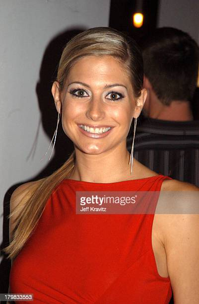 Leanne Marie Cecile Miss Canada during 2003 Toronto Film Festival Mambo Italiano Party at Brasserie Restaurant in Toronto Ontario Canada