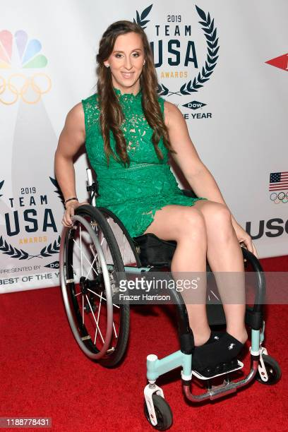 Leanne Smith attends the 2019 Team USA Awards at Universal Studios Hollywood on November 19 2019 in Universal City California