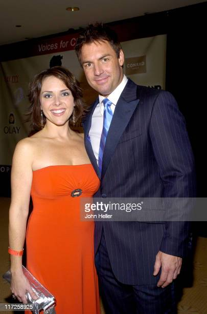 Leanza Coronet and husband Mark Steines during Clay Aiken's Bubel/Aiken Foundation to Hold Voices For Change Gala Benefit and Concert, Benefiting...