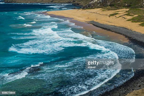 Leao Beach in Fernando de Noronha.