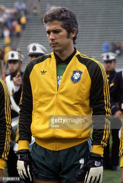 Leao during the match between Brazil and Sweden played at Mar Del Plata Argentina on June 3rd 1978