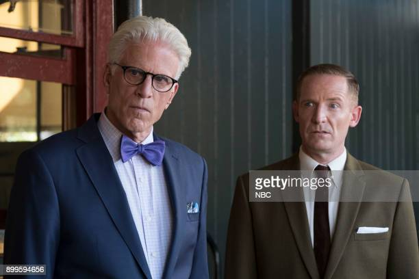 PLACE 'Leap Into Faith' Episode 209 Pictured Ted Danson as Michael Marc Evan Jackson as Shawn