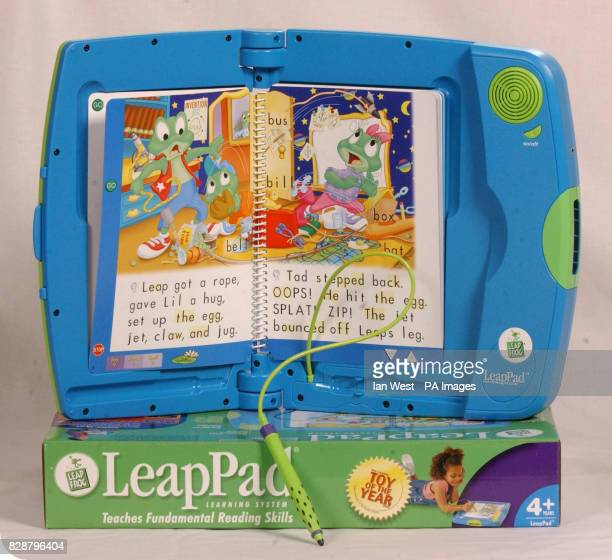 Leap Pad one of the top 10 toys children are expected to want for Christmas on show at Dream Toys 2003 Teenage Mutant Ninja Turtles one of the...