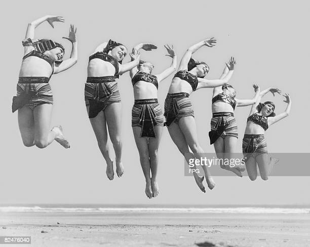 Leaping Dancers