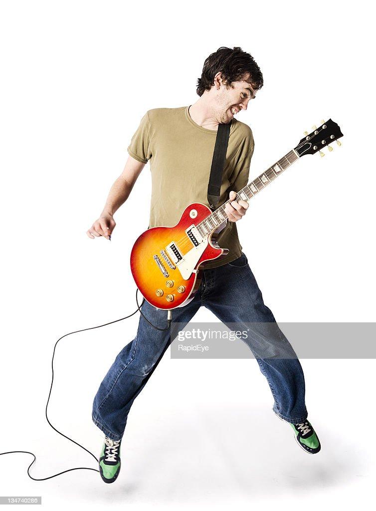 Leaping rocker : Stock Photo