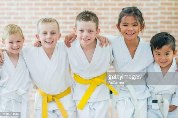 Eine Kampfkunst erlernen