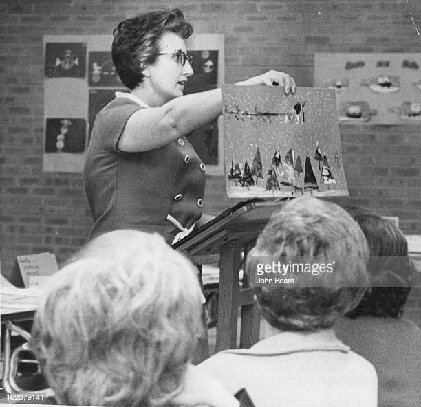 DEC 2 1970 Learning is an ongoing process for teachers in Littleton School District No 6 who spend an afternoon each month at inservice workshops...