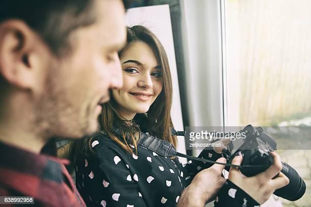 Apprentissage de la photographie
