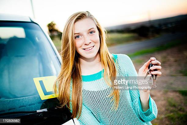 Learning to drive, youth achieving drivers licence