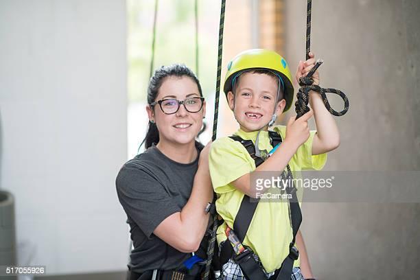 Lernen Sie zu klettern