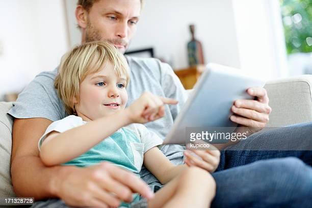 Lernen, seine neue tablet