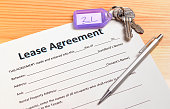 lease agreement waiting to be signed
