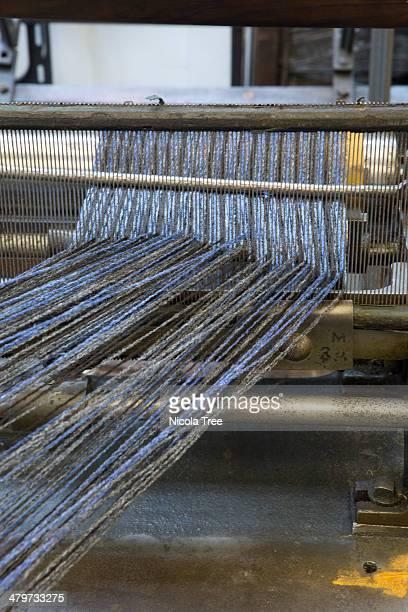 Leasing reed for yarn in weavers workshop