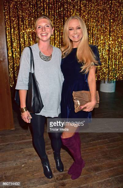 LeaSophie Cramer and Jenny Elvers attend the Amorelie Christmas Calender Launch Dinner on October 12 2017 in Berlin Germany