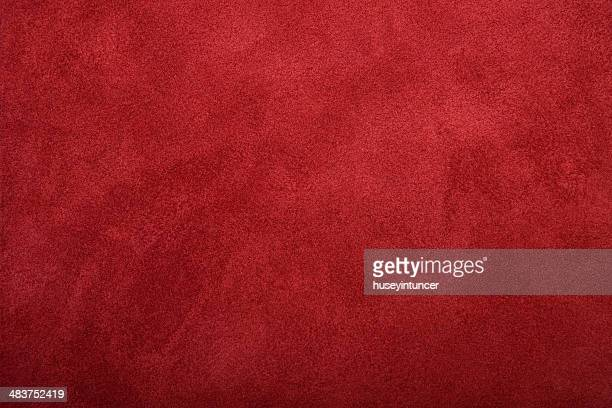 leather background - rood stockfoto's en -beelden
