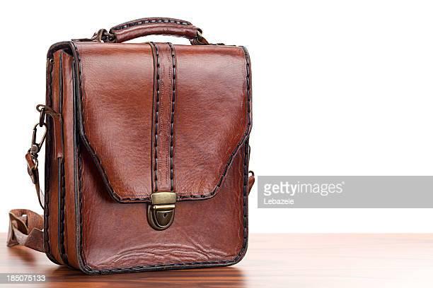 Leder-Einkaufstasche
