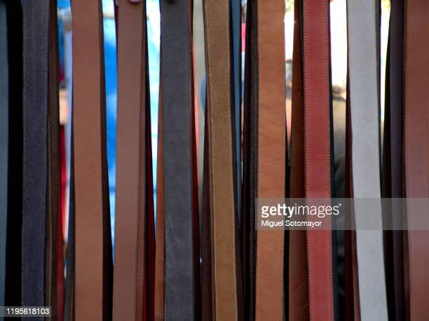 leather belts - leather belt stock pictures, royalty-free photos & images