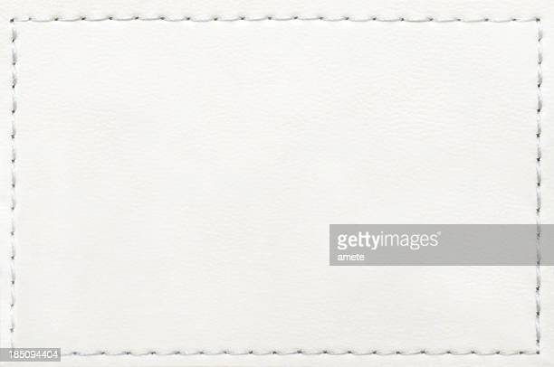 leather blank jeans label - textile stock pictures, royalty-free photos & images