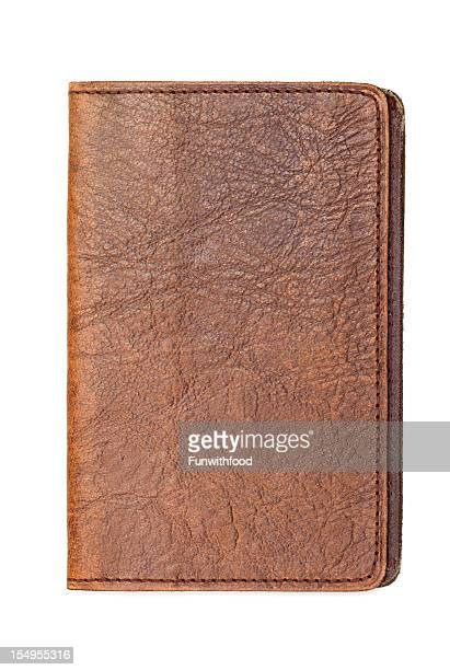 leather book, diary notebook cover - diary stock pictures, royalty-free photos & images