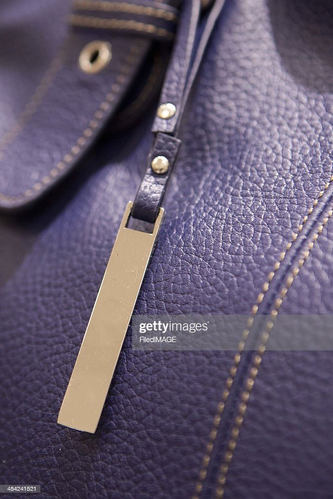 Leather Hand Bag : Stock Photo