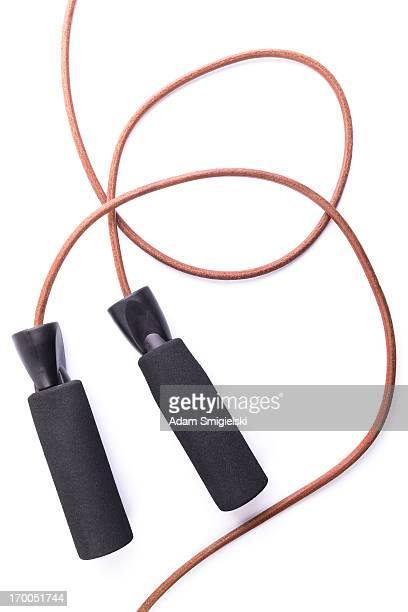 leather jump rope - skipping rope stock pictures, royalty-free photos & images