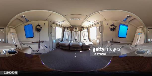 Image was created as an Equirectangular Panorama. Import image into a panoramic player to create an interactive 360 degree view.) Leather passenger...