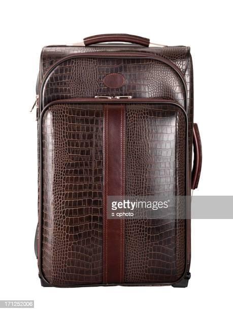 Valise en cuir Tracé de détourage