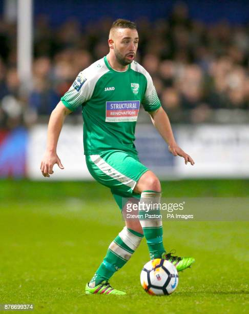 Leatherhead's player manager Sammy Moore
