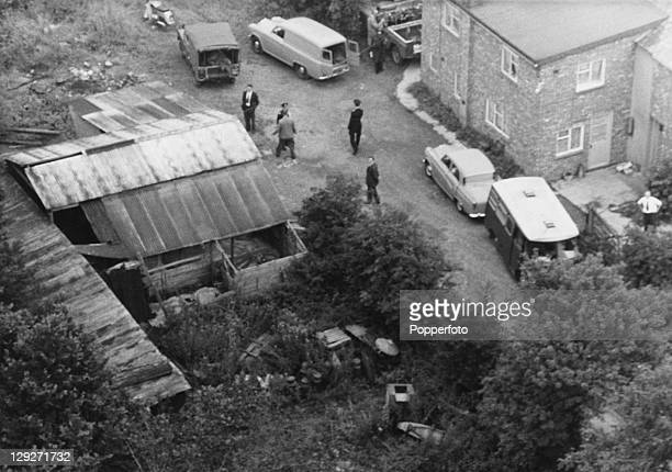 Leatherslade Farm the hideout of The Great Train Robbers near Oakley Buckinghamshire August 1963