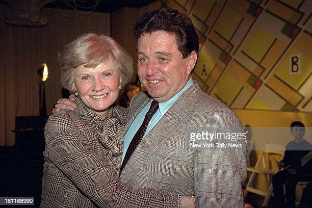 Leave It to Beaver casting for movie held at Palladium Barbara Billingsley and Jerry Mathers