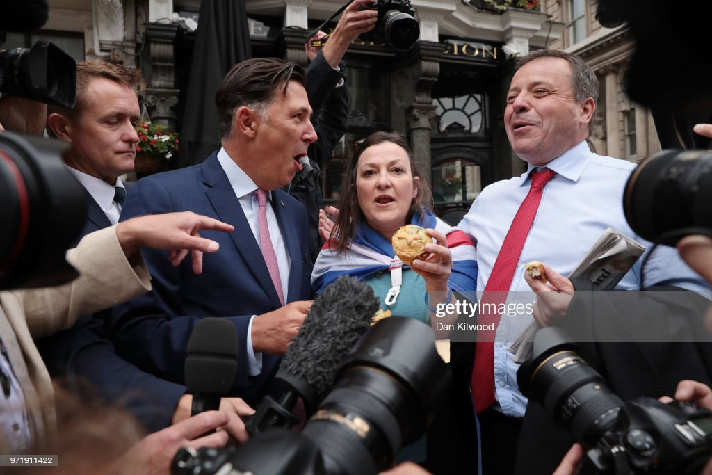 GBR: Leave.EU Backer Arron Banks Gives Evidence To The Fake News Select Committee