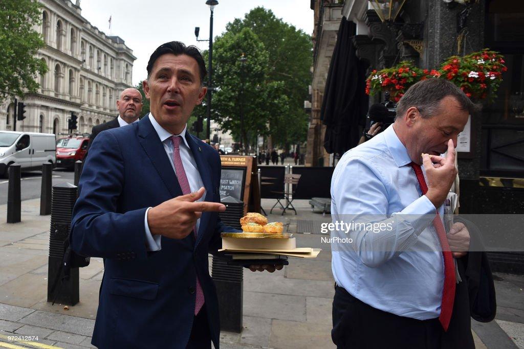Leave.EU Backer Arron Banks Gives Evidence To The Fake News Select Committee