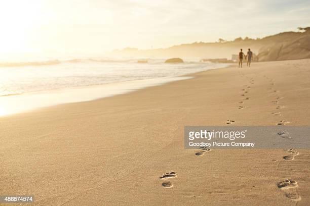 Leaving footprints of love