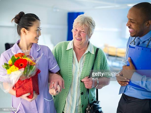 leaving hospital