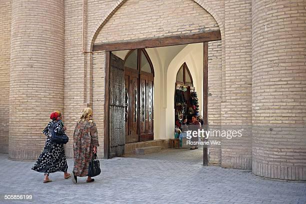 CONTENT] Leaving Khiva inner city through the West Gate
