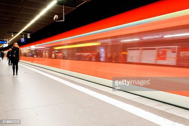 Austritt aus S-Bahn