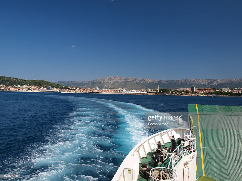 Leaving Split : Stock Photo
