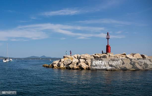 Leaving the port of Alghero