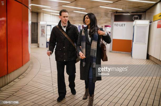 Leaving the Subway Station Together