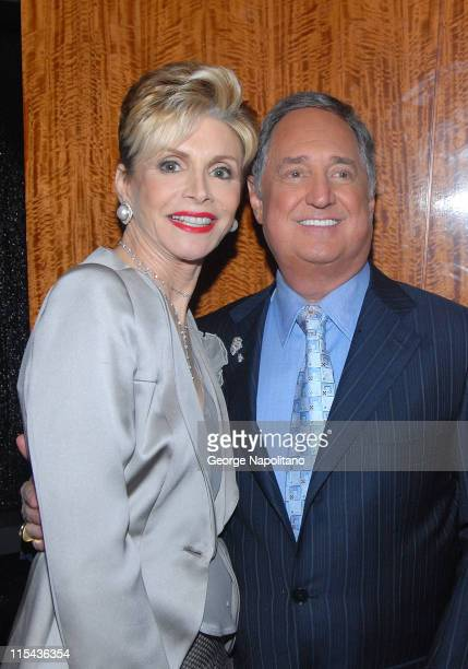 """Leba and Neil Sedaka at the After-Party for """" Neil Sedake Celebrates Fifty Years of Hits"""" at Lincoln's Center Avery Fischer Hall on October 26, 2007."""