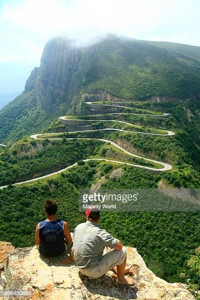 Leba Pass near town of Humpata in southern Angola