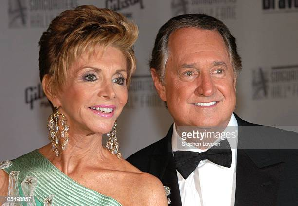 Leba Sedaka and Neil Sedaka during 35th Annnual Songwriters Hall of Fame Awards at The Marriott Marquis in New York City NY United States