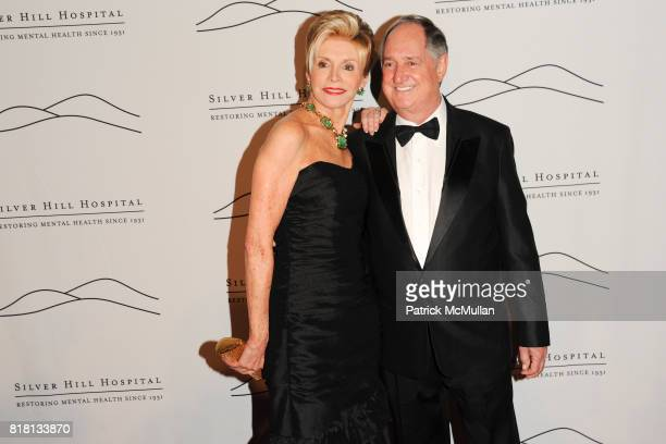 Leba Strassberg and Neil Sedaka attend Silver Hill Hospital 80th Anniversary Gala at Cipriani 42nd Street on November 11 2010 in New York City