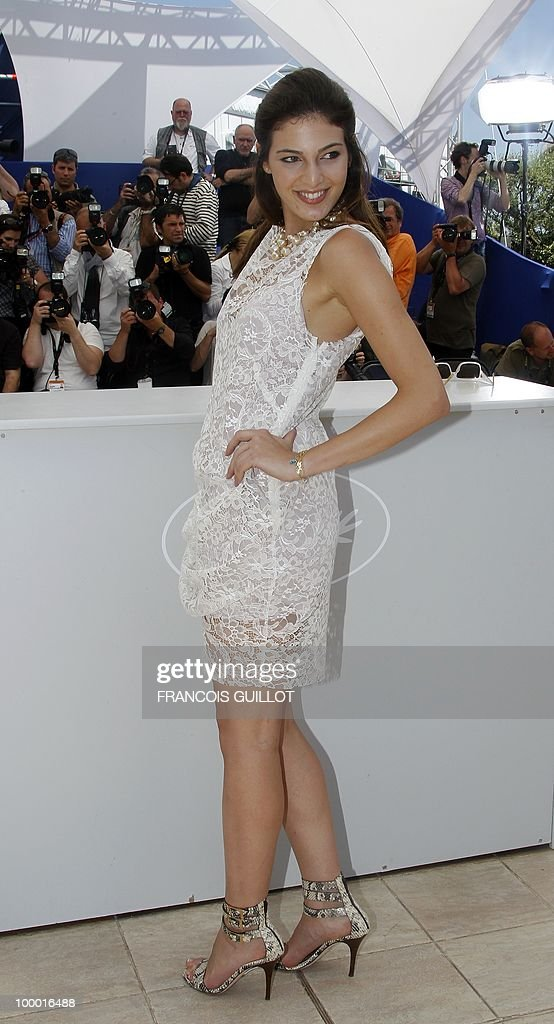 Lebanese actress Razan Jammal poses during the photocall of 'Carlos' presented out of competition at the 63rd Cannes Film Festival on May 20, 2010 in Cannes.