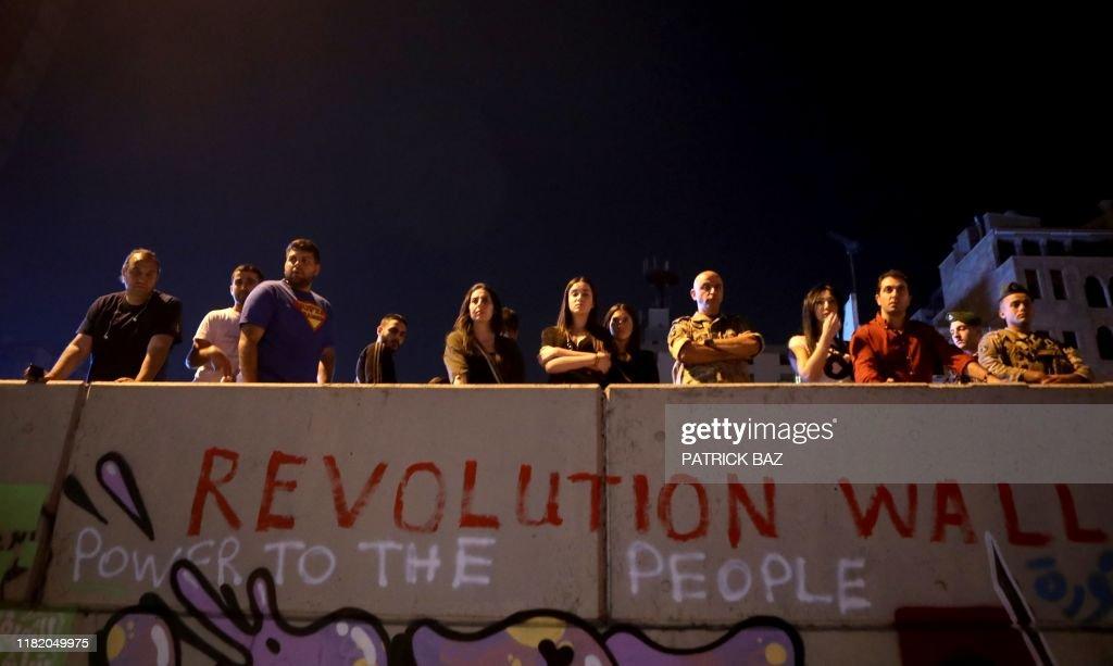 LEBANON-POLITICS-DEMO : News Photo