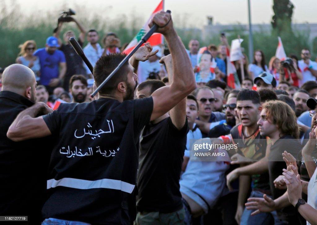 LEBANON-POLITICS-PROTESTS : News Photo