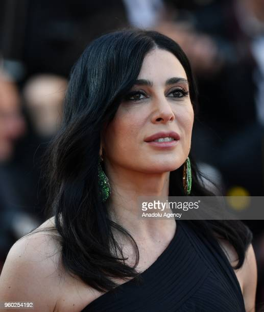 Lebanese director Nadine Labaki arrives for the screening of the film 'The Man who Killed Don Quixote' and Closing Awards Ceremony at the 71st Cannes...
